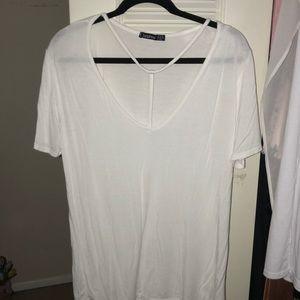 Boohoo Tops - Boohoo White T-Shirt